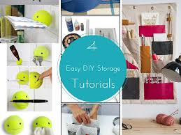 storage tips 4 easy diy storage ideas tutorials