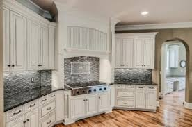 gray glazed white kitchen cabinets design ideas featuring upcycled kitchen and bath general
