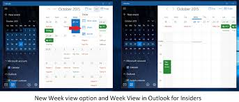 outlook mail and calendar for windows 10 pc and mobile updated