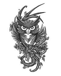 owl tattoo design by jonasolsenwoodcraft on deviantart