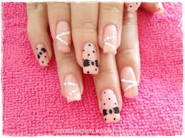 minnie mouse nails nails obsession