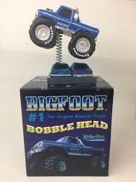 bigfoot summit monster truck bigfoot 4x4 gains air time with line of bobbleheads palm springs