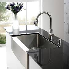 stainless farmhouse kitchen sink kraus khf200 36 stainless steel 35 7 8 single basin 16 gauge