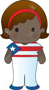 Puertorican Flag Little In A Shirt With The Puerto Rican Flag On It Royalty