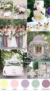 wedding colors pastel wedding colour palette lilac mauve and mint wedding