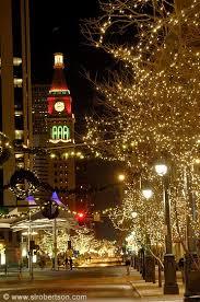 denver christmas lights travel colorado usa by