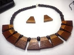 wood necklace designs images Wooden jewellery love wood wear wood jpg