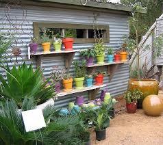 Wacky Garden Ideas Colorful Garden Sheds Gardens Plants And Garden Ideas