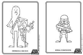free printable star wars coloring book