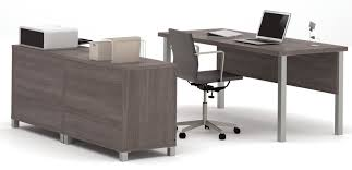 U Shape Desk Mercury Row 3 U Shape Desk Office Suite Reviews
