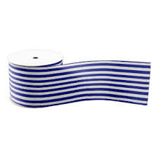 blue and white striped ribbon blue and white stripes craft ribbon zazzle