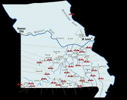 missouri map images statewide river map missouri rivers floats canoes kayaks rafts