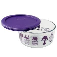 purple canisters for the kitchen pyrex simply store 4 cup mod kitchen storage dish w purple lid