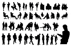 free silhouette images best of free vector business people silhouette packs