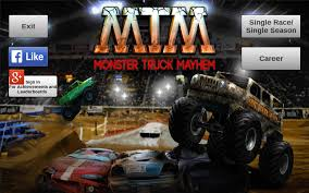 games of monster truck racing monster truck mayhem android apps on google play