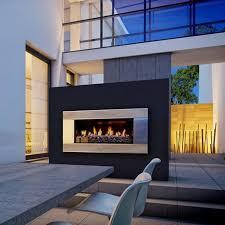 outdoor gas fireplace insert corner fun ideas outdoor gas