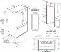 cabinet depth refrigerator dimensions counter depth refrigerator measurements plantsafemaintenance com