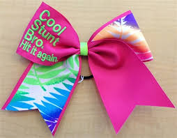 cool hair bows cool stunt bro hit it again bow by empire cheer