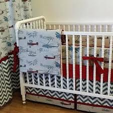 Vintage Aviator Crib Bedding Vintage Airplane Baby Bedding Vintage Aviator Baby Bedding
