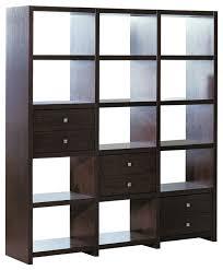 Small Open Bookcase Shelves Interesting Open Back Bookshelves Open Back Bookcase
