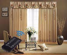 Motorized Drapery Rods Modern Metal Curtain Rods U0026 Finials Ebay