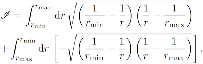 elliptical orbits in the phase space quantization
