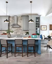 astonishing blue kitchen backsplash with moveable island viking