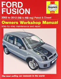 ford fusion service and repair manual 2002 2012 haynes service