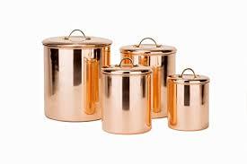 copper canister set kitchen 4 copper canister set kitchen dining