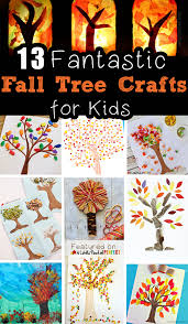 13 fantastic fall tree crafts for kids to make