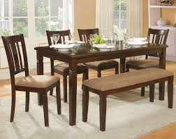 dining room set with bench dinette set bench deentight