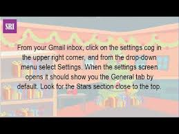 change color stars gmail