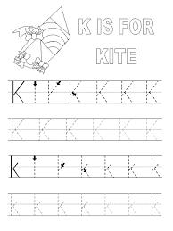 Abc Practice Worksheets For Kindergarten Trace The Alphabets Worksheets Activity Shelter