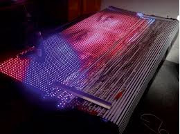 how to build your own flexible led display xxl ws2811 real time