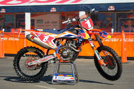 125 motocross bikes dungey 2016 bikes of supercross motocross pictures vital mx