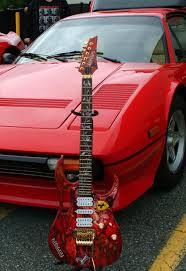ferrari custom ferrari 308gtb and ferrari custom ibanez guitar by nikon aj on
