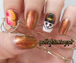 Thanksgiving Day Nail Prettyfulz Thanksgiving Day Nail