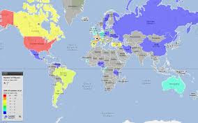 map of nba teams map of active nba players by country by country targetmap