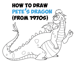 pete u0027s dragon archives draw step step drawing tutorials