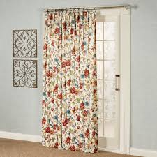 Pinch Pleat Drapes Patio Door by Cornwall Pinch Pleat Thermal Room Darkening Floral Patio Panel