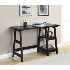 Interior Furniture Black Wooden Console Walmart Office Furniture