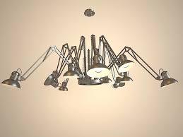 Spider Chandelier Chandelier Spider L 3d Model 3ds Max Files Free