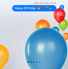 send balloons ios 10 how to send imessages with and screen effects