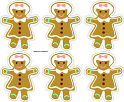 printable gingerbread man gift tags die cut patterns and craft templates