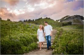 seattle wedding photographers mount rainier engagement photos seattle wedding photographers