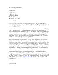 cover letter for resume for internship exclusive idea sample