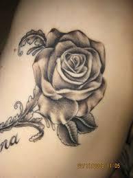 1990tattoos beautiful rose flower tattoos