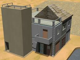cubic shooting range design and military training facilities