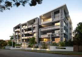 Lovely Apartments Exterior Design  Beautiful Modern Apartment - Apartment exterior design
