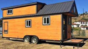 Tiny Home Design Modern Tiny Home With Pull Out Retractable Front Porch Small